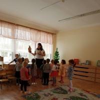 Конспект образовательной деятельности по развитию речи в младшей группе «В зимнем лесу»