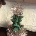 Мастер-класс по изготовлению новогодней елочки из бумаги «Здравствуй, зимняя красавица»