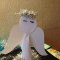 Мастер класс из бумаги для детей подготовительной группы «Рождественский Ангел».