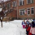 Фотоотчет «Весна-красна! Наблюдение за признаками ранней весны с детьми первой младшей группы»