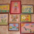 Конспект занятия по развитию речи и рисованию в подготовительной речевой группе на тему «Какого цвета весна».