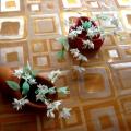 Поделка «Первые цветы для мамы»