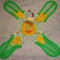 Лоскуток «Девчонка-кукурузка» для куко-одеяла в Туле. Мастер-класс