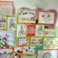 Фотоотчет о выставке рисунков «Права детей»