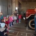Экскурсия в пожарную часть (фотоотчет)