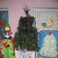 Фотоотчет о новогоднем конкурсе «Чудо— елочка краса, в гости ты опять пришла»