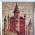 Мастер-класс для обучающихся среднего школьного возраста «Мозаика из природного материала «Замок»
