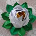 Мастер-класс оригами «Лотос».