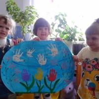 Фотоотчет о коллективной работе с детьми во второй младшей группе «Первомай»