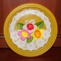 Декоративная тарелочка для мамы. Мастер-класс