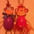 «Весёлая парочка»— обезьянки из бросового материала. Мастер-класс