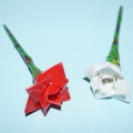 Цветы из изоленты для подарков, поделок, украшения интерьера. Мастер-класс