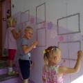 Оформление лестничной площадки в детском саду