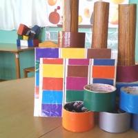 Дидактическая игра «Разноцветные колечки» для детей 4–6 лет