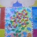 НОД по художественно-эстетическому воспитанию в младшей группе. «Изготовление поздравительного плаката к 8 марта»
