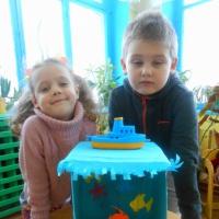 Комплексное занятие «На морском дне» в старшей подгруппе разновозрастной группы по программе «Детство»