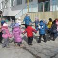 Воспитание у дошкольников ЗОЖ. Дети специализированной (с нарушением зрения) средней группы