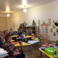 Фотоотчет о мастер-классе для родителей «Здоровьесберегающие технологии в работе логопеда»