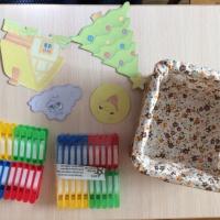 Дидактическая игра с прищепками «Явления природы», для подгрупповых и индивидуальных занятий с детьми