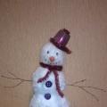 Мастер-класс «Снеговик из ваты»