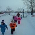 Фотоотчёт «Зимние забавы на свежем воздухе»