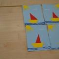 Детский мастер-класс «Подарок для любимого папы на 23 февраля. Кораблик, качающийся на морских волнах» (2 младшая группа)