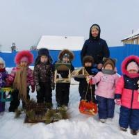 Фотоотчет об участии в акции «Поможем птицам Якутии»