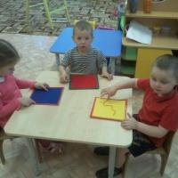 Опыта работы по развитию речи детей младшей группы при помощи техники «ниткопись»