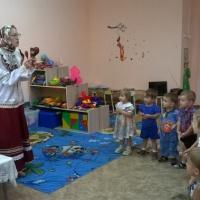 Фотоотчет о проведенном развлечении «В гостях у бабушки-казачки»