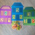 Мастер-класс по изготовлению дидактической игры по ФЭМП для детей старшего дошкольного возраста «Математические домики»