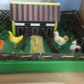 Дидактическое пособие-макет «Птичий дворик»