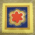 Мастер-класс по изготовлению открытки с цветами