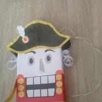 Мастер-класс по изготовлению новогодней игрушки Щелкунчик