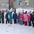 Спортивный праздник «Зимушка-зима» для детей подготовительной и старшей групп