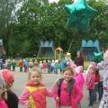Фотоотчет о празднике ко Дню защиты детей «Счастье, солнце, дружба— вот что детям нужно!».