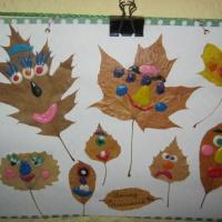 Фотоотчет с выставки семейного творчества «Осенние фантазии».