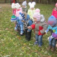 Перспективное планирование основных видов движений на прогулке в младшей группе