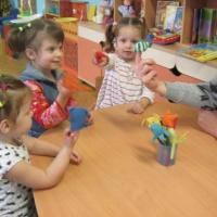 Консультация для воспитателей «Организация предметно-развивающей среды для развития речи детей раннего возраста»