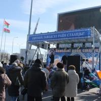 Фоторепортаж о проведении праздника «Цвети, Заводской район столицы»