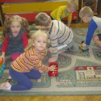 Игровой тренинг «Стоп, машина! Тише ход! На дороге пешеход!» как активная форма взаимодействия с родителями
