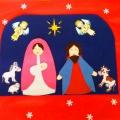Конкурс детско-родительских работ «Рождественская звезда» в детском саду «Светлячок»