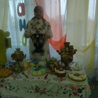 Праздник в старшей группе, посвященный Дню Матери «Посиделки у самовара»