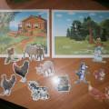Дидактическая игра «Домашние и дикие животные» (младшая группа)