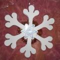 Мастер-класс «Объемная снежинка» из картона