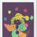 Конспект НОД по художественному творчеству «Весёлый клоун» в подготовительной группе.