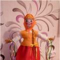 Мастер-класс «Кукла Масленица»
