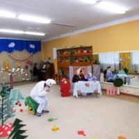 Фотоотчет о спектакле по сказке В. Сутеева «Мешок яблок»