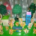 Коллективная поделка «Осень в родном городе». Мастер-класс