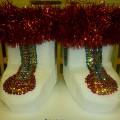 Фотоотчёт «Валенки для Деда Мороза»
