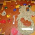 Дидактическое пособие для детей 2–3 лет «Ежик»